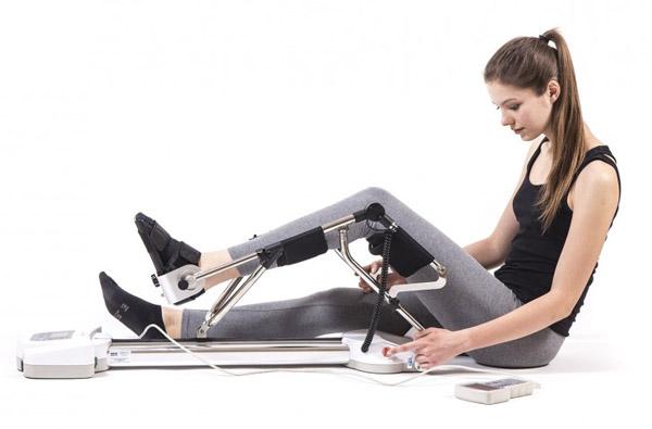 Szyny CPM do ćwiczeń i rehablilitacji stawu kolanowego
